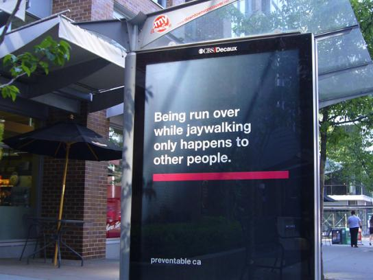 The Community Against Preventable Injuries Outdoor Ad -  OOH