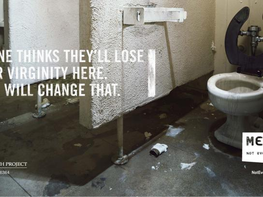 Montana Meth Project Print Ad -  Bathroom