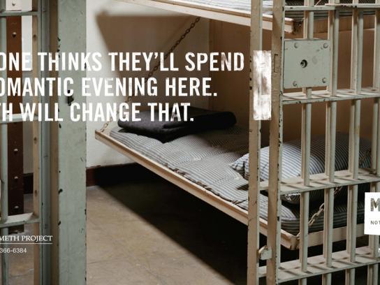 Montana Meth Project Print Ad -  Prison