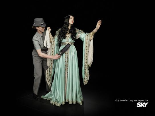 SKY Print Ad -  Princess