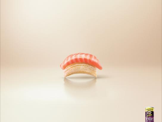Pringles Print Ad -  Sushi