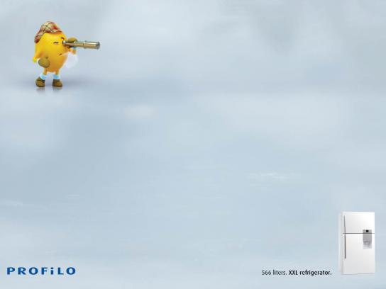 Profilo Print Ad -  Lost Vegetables, Lemon