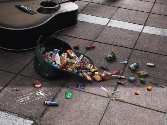 Quick & Easy Print Ad -  Busker
