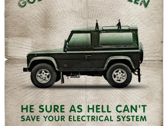 British Auto Service Print Ad -  Queen
