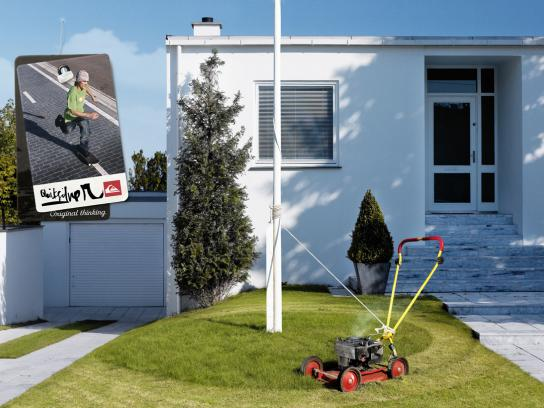 Quiksilver Print Ad -  Lawnmower