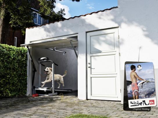 Quiksilver Print Ad -  Treadmill