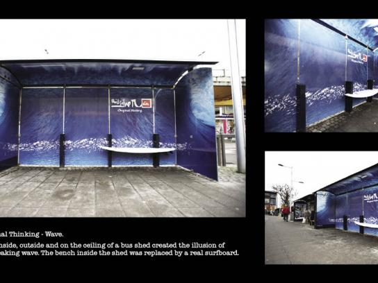 Quiksilver Ambient Ad -  Wave