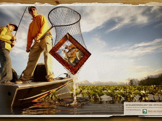 Takemefishing.org Print Ad -  Net