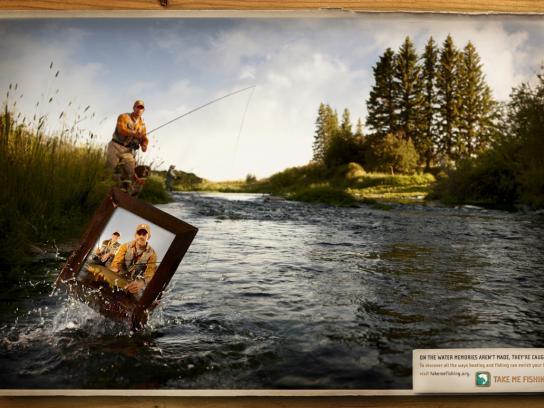 Takemefishing.org Print Ad -  Fly