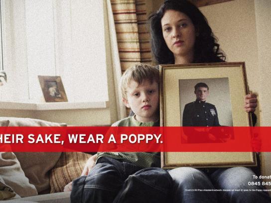 Royal British Legion Print Ad -  Poppy Appeal 2009, 3