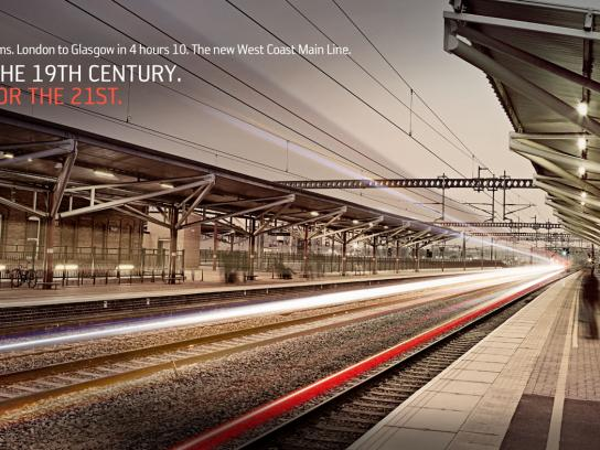 Network Rail Outdoor Ad -  Rugby