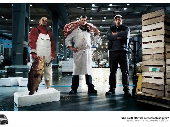 Renault Print Ad -  Bad Boys, Food