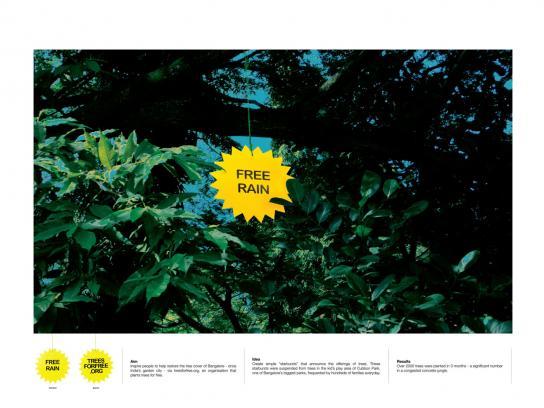 treesforfree Ambient Ad -  Rain