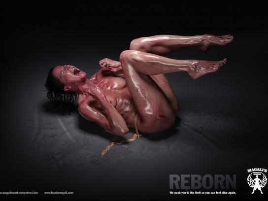 Magali's Workout System Print Ad -  Reborn