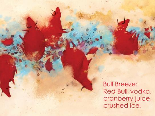 Red Bull Print Ad -  Bull Breeze