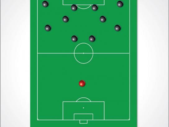 Red Bull Print Ad -  Soccer