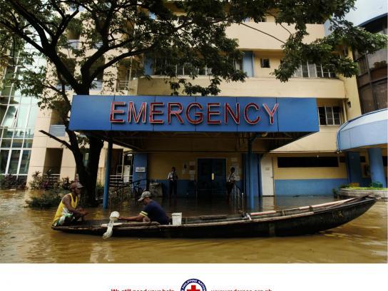 Red Cross Print Ad -  Emergency