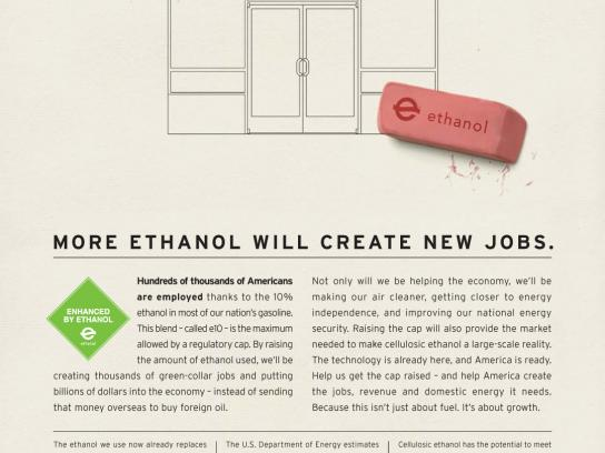 Growth Energy Print Ad -  Ethanol campaign, Business