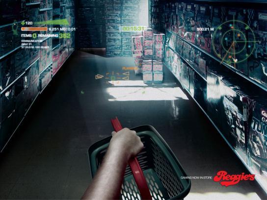 Reggie's Print Ad -  Basket