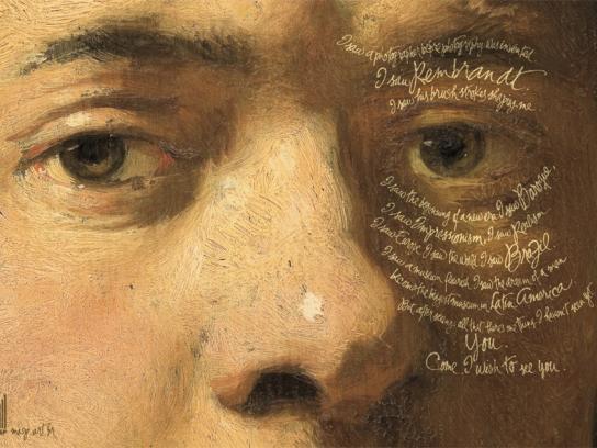 MASP Print Ad -  Rembrandt