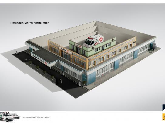 Renault Print Ad -  General Hospital