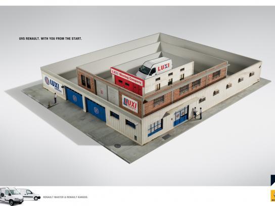 Renault Print Ad -  Logistics