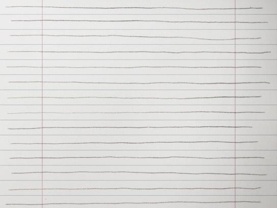 Legambiente Print Ad -  Lined paper