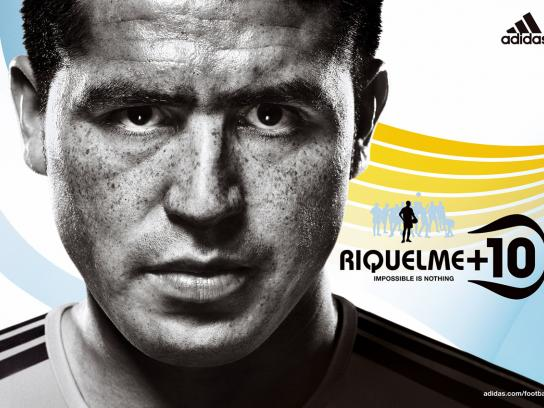Impossible is nothing, Riquelme