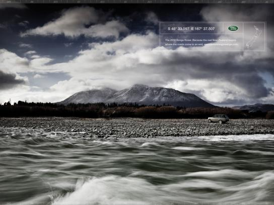 Land Rover Print Ad -  Riverside