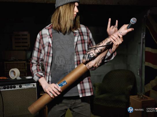 HP Print Ad -  Rocker