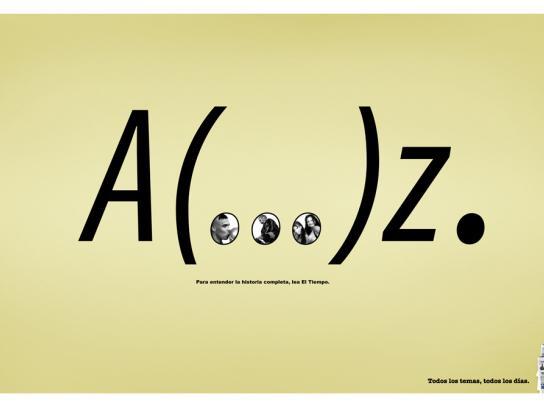 El Tiempo Print Ad -  Ronaldo