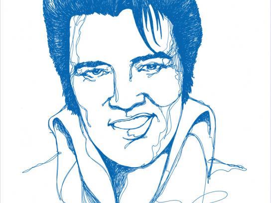 Rotomac Print Ad -  Elvis
