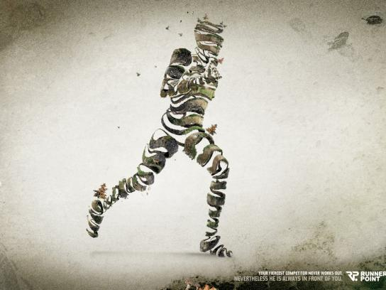 Runnerspoint Print Ad -  Competitor
