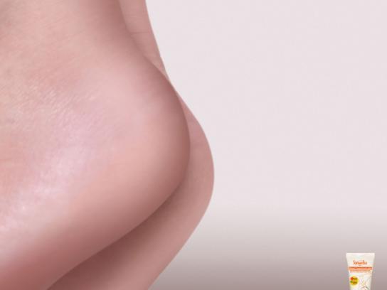 Samantha Cracked Heel Lotion Print Ad -  Sexy Heels