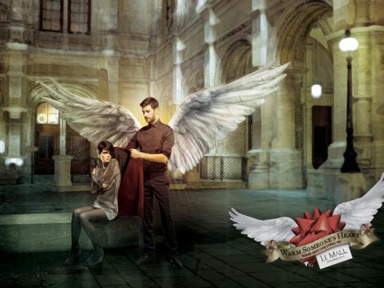 Le Mall Print Ad -  Save Christmas, 1