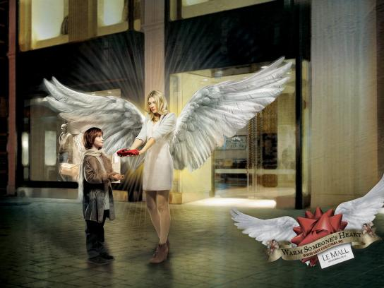 Le Mall Print Ad -  Save Christmas, 2