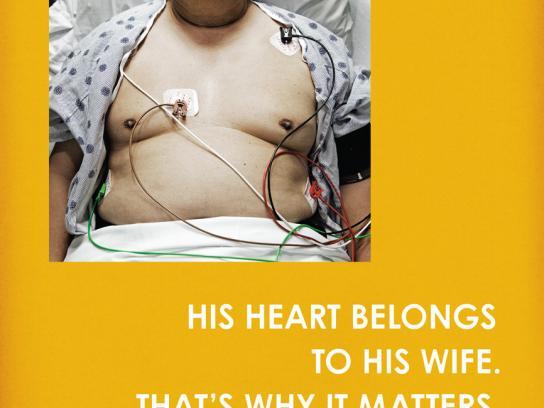 Sunnybrook Hospital Print Ad -  Cardiac