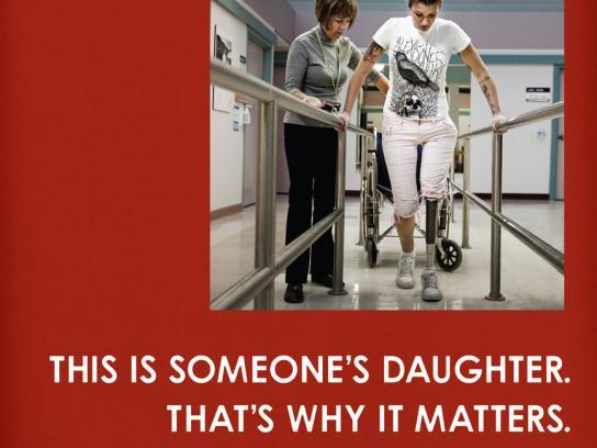 Sunnybrook Hospital Print Ad -  Trauma, 2