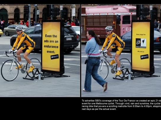 SBS Ambient Ad -  Endurance