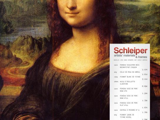 Schleiper Print Ad -  Mona Lisa