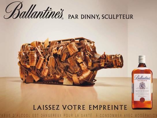 Ballantine's Print Ad -  Sculpture 1