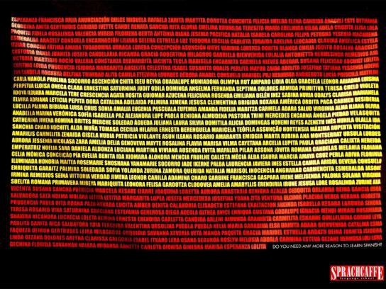 Sprachcaffe Print Ad -  Spanish