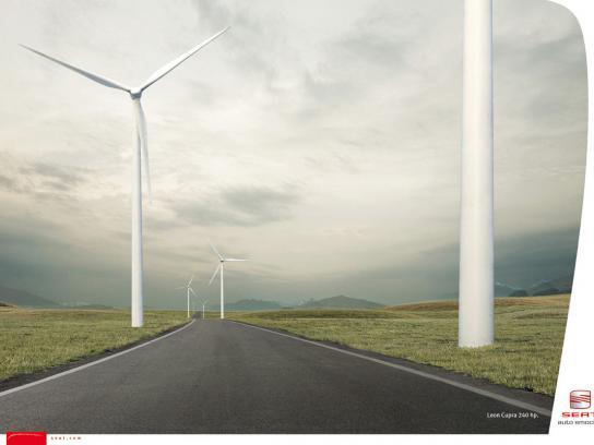 Seat Print Ad -  Windmills