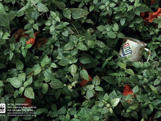 WWF Print Ad -  Enron