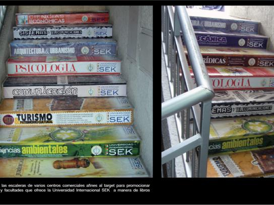 SEK University Ambient Ad -  Books