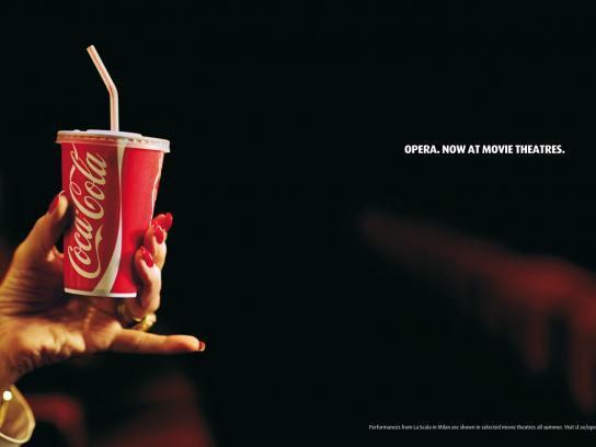 Swedish Filmindustry Print Ad -  Opera. Now at movie theatres.