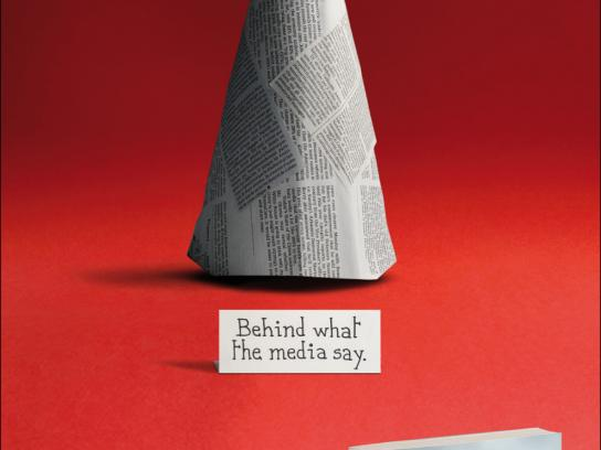 Feltrinelli Print Ad -  Burqa