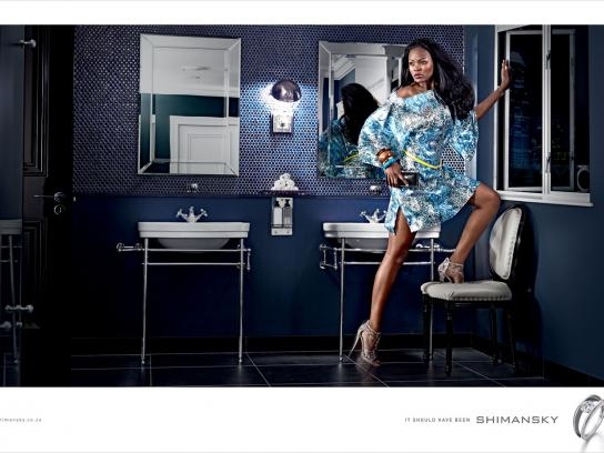 Shimansky Print Ad -  Bathroom escape
