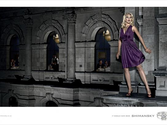Shimansky Print Ad -  Ledge escape