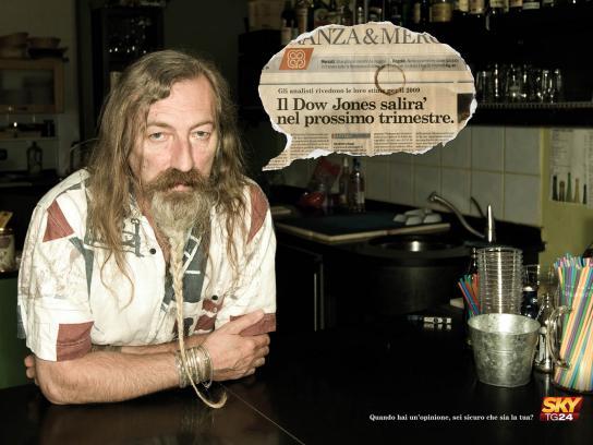 SKY Print Ad -  Jesus